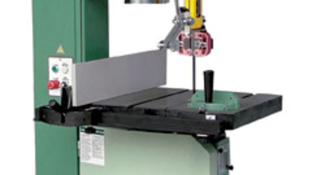 "General's new 18"" band saw, model 90-290M1, sells for $2,999."