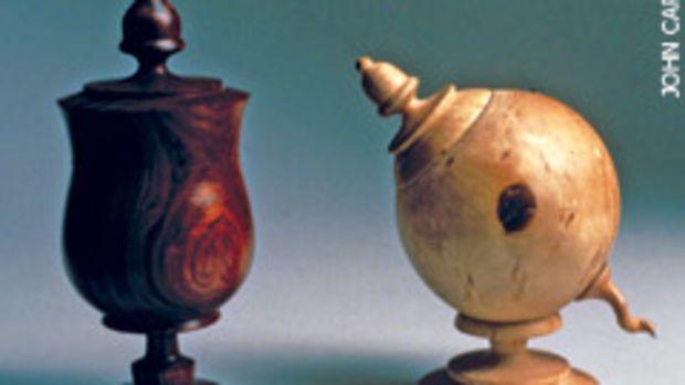 "The ""Turning Art into Wood"" exhibit in Philadelphia includes Jake Brubaker's turnings."