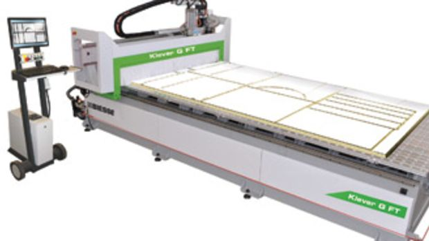 The Klever G FT, from Biesse America.