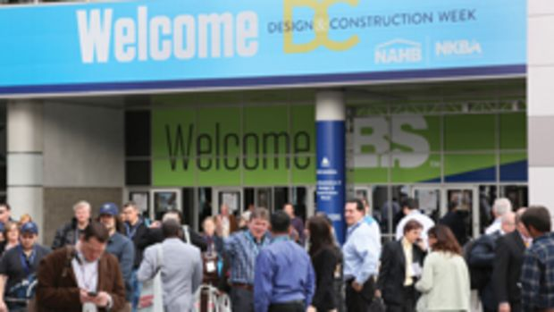 Thousands of builders and remodelers flocked to the International Builders Show in Las Vegas in February.