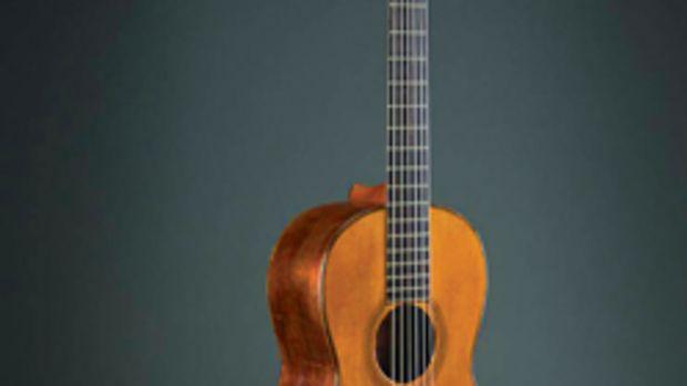 Th early American guitar exhibit at the Metropolitan Museum of Art in New York runs through Dec. 7.