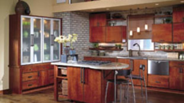 This maple kitchen with traditional-style cabinetry is in strong demand today, according to an NKBA design survey.