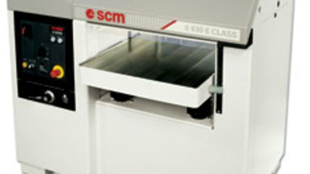 "SCM Group has introduced two 24"" production planers."