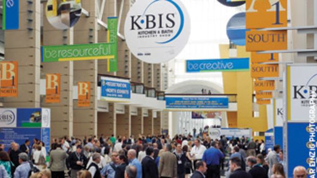 KBIS features some of the most recognized brands in the kitchen and bath industry.