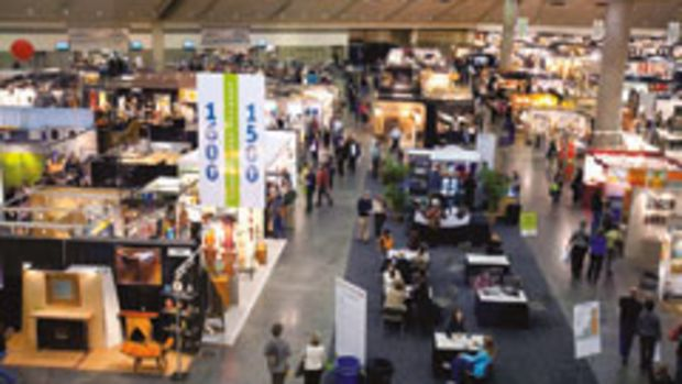 The crowd was bustling in February at the 2010 Baltimore ACC show.