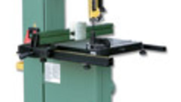 "General International's new 14"" band saw, model 90170 M1."