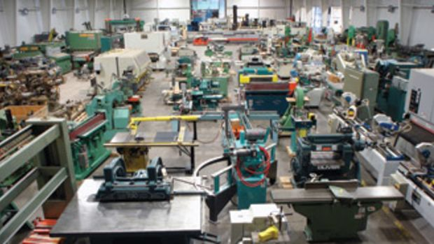 RT Machine, a new-and-used woodworking machinery supplier, is furnishing all of the equipment inside Echelon Furniture's manufacturing plant.