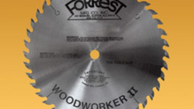 Forrest Mfg. offers custom grinding for its Woodworker II saw blade.
