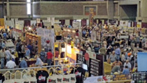 The Woodworking Shows feature new tools and educational opportunities.