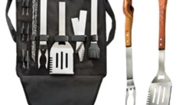 Rockler's new stainless-steel custom BBQ kit lets woodworkers create custom-handled barbecue tools.