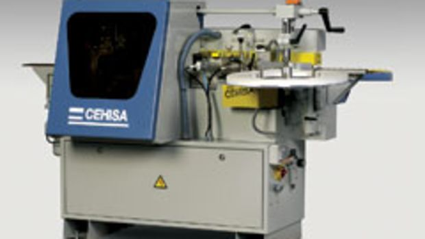 The Cehisa Bryko edgebander, available from Adwood, has features often found in more expensive models.