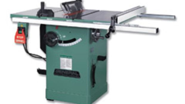 "General's new 10"" 2-hp, left tilt hybrid saw, model 50 200R M1."