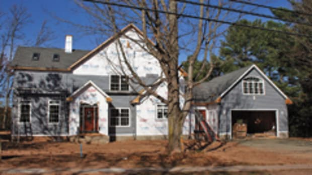 More new homes are under construction, according to the report.