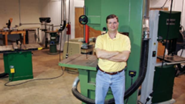 Chris Estes, owner of the Carolina Woodworking School, wants his patrons to learn new skills, have fun, make friends and build the projects they've always dreamed to make.
