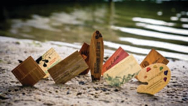 Cards of Wood offers an assortment of custome veneer cards and other not products to both individuals and business owners looking for a way to make a statement.