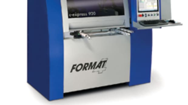 Felder's new Format 4 C-Express 920 has a small footprint that makes it a good fit for shops with space limitations.