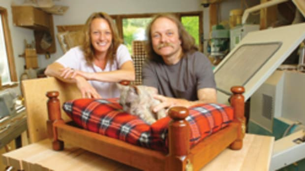 Brenda and Randy Malm cater to canines and other pampered pets.