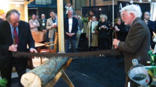 A new owner held its first Philadelphia Invitational, which opened with the traditional log-cutting ceremony.