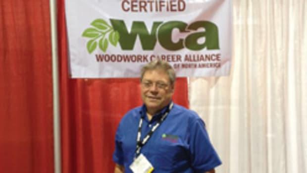 Woodwork Career Alliance president Scott Nelson.