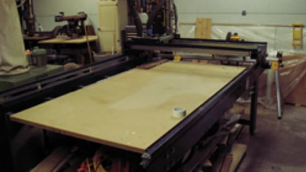 Lesage purchased his ShopBot PRT96 CNC router in 1999.