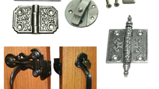 Century-old steel and cast-iron hardware designs might be just what a modern kitchen needs. A sampling of products from the John Wright Co.