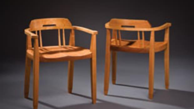 "The NHFMA exhibit includes ""A Friendly Pair"" by David Leach."