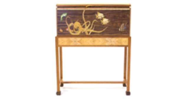 """The """"Made in Massachusetts"""" exhibit will feature """"The Aquarium"""" chest by Silas Kopf."""