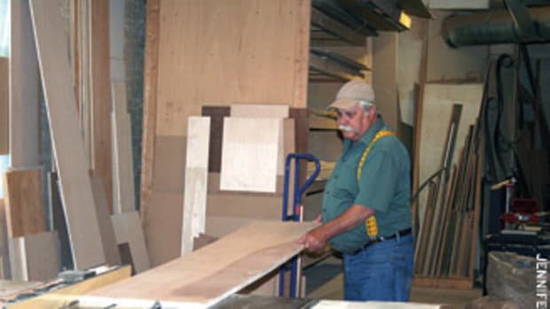 Matthew Clark builds custom cabinetry and millwork for the residential market.