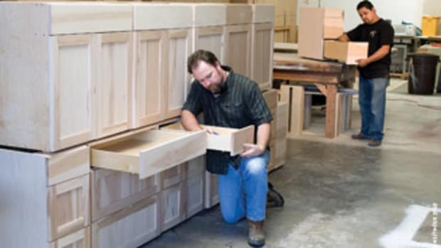 Turner learned carpentry from his father and started his company in 1987.