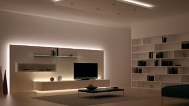 Hafele's LED light options for cabinet installations.