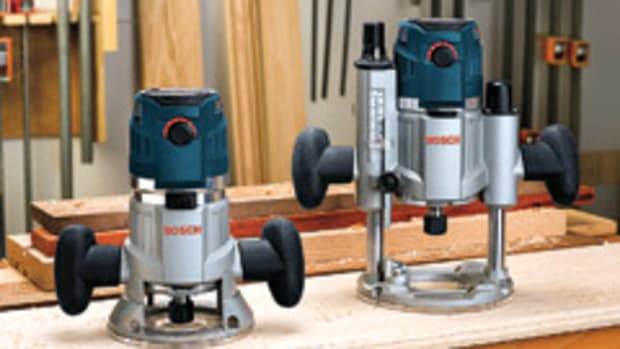 The Bosch MR23EVS router series.