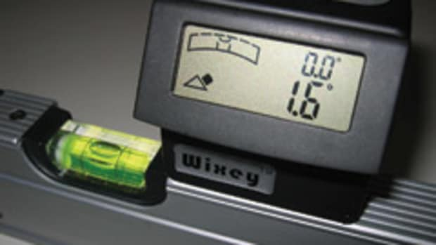 The Wixey Digital Angle Gauge with level, model WR365.