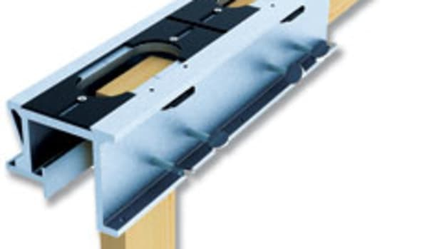 The E-Z Pro Mortise & Tenon Jig, available from General Tools & Instruments.