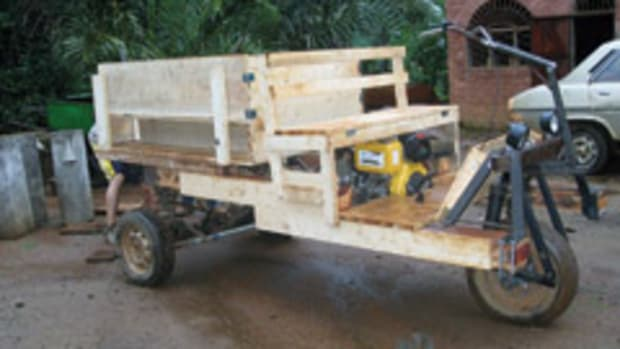 Student from Purdue University traveled to Cameroon in May to help design vehicles for the transportation of people and produce.