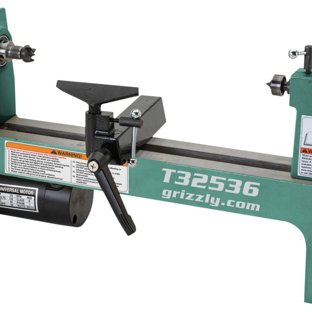 Grizzly-lathe
