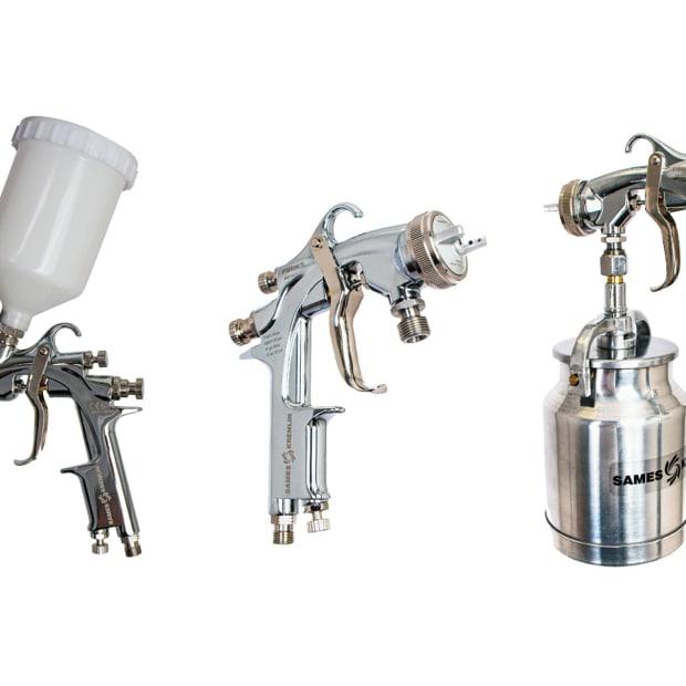 A)-Sames-FStart-Airspray-units
