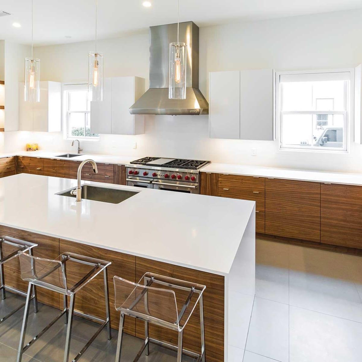 Modern Families Need Kitchens Woodshop News