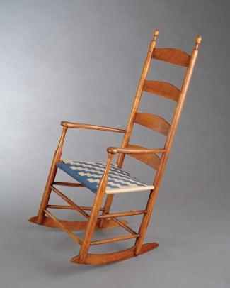 shaker-ladderback-arm-Rocking-Chair