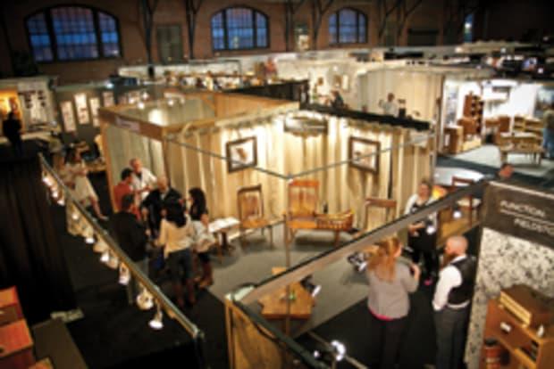 Crowds Pack Armory For Philadelphia, Philadelphia Furniture Show