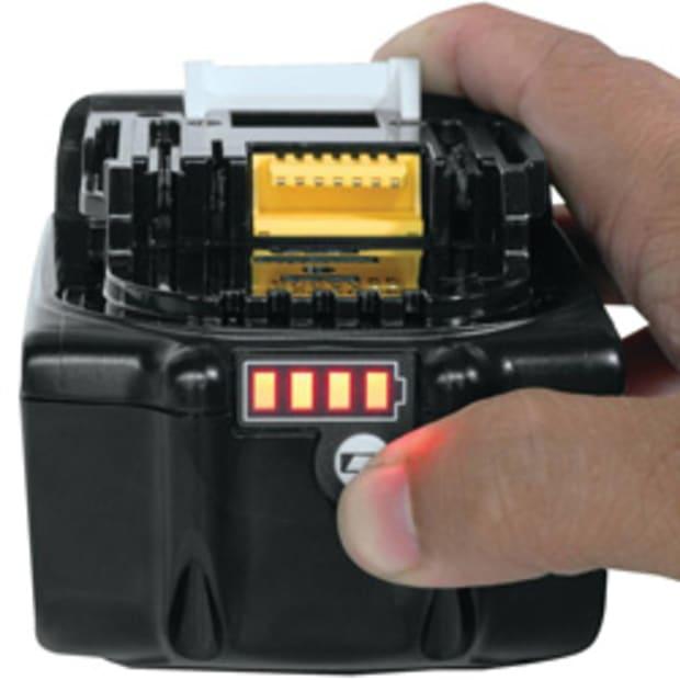 makita 18 V metal anionic battery