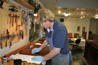 He Revels In Restoration Woodshop News