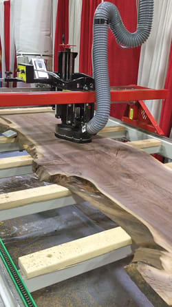 Baker Auto Sales >> Wood Wizz rolls out new surfacing machine - Woodshop News