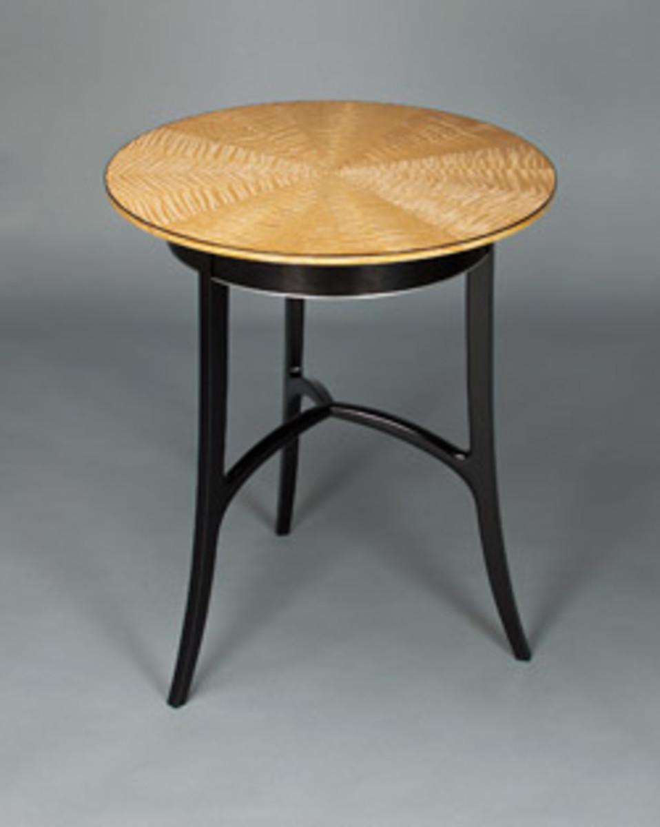 Michael Korsak's accent table.