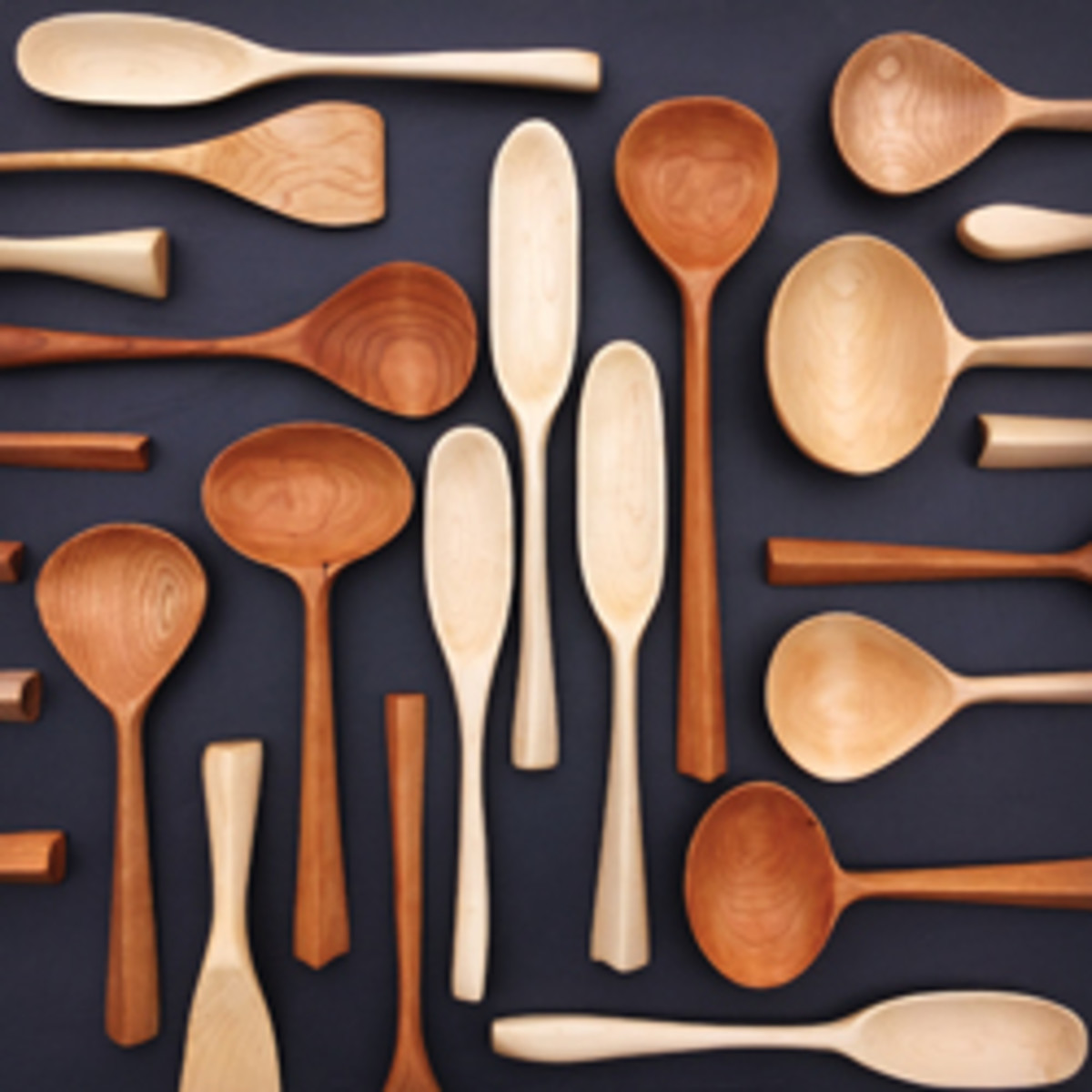 "Karina Steele's ""Assorted Spoons."""