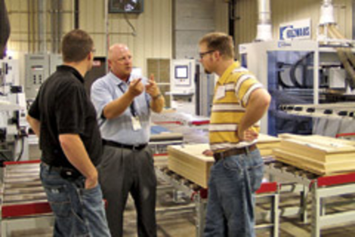 Biesse America and Stiles Machinery hosted the first NextGen event at its North Carolina facilities in June.