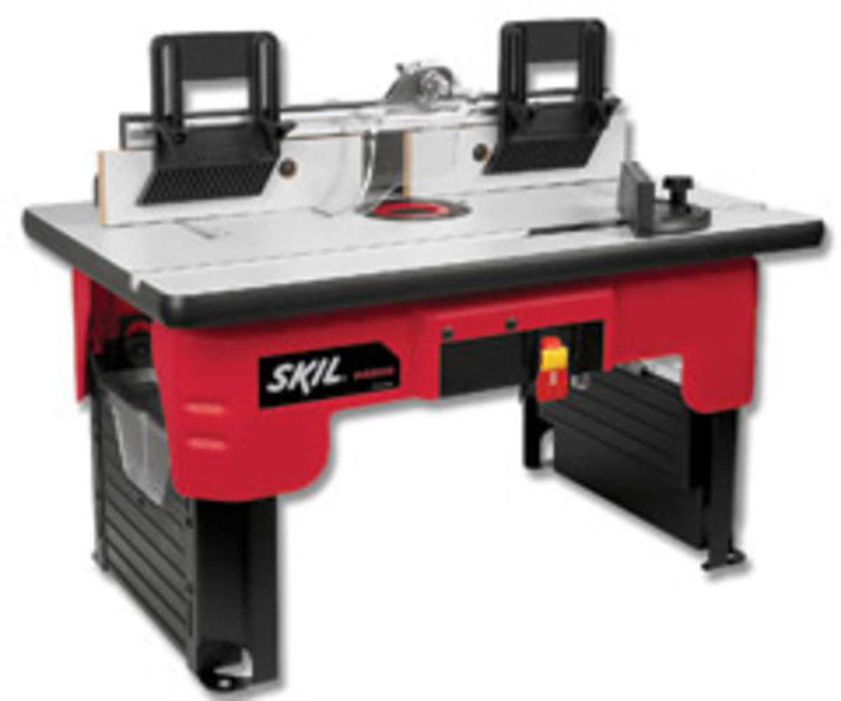 The Skil RAS900 portable router table.