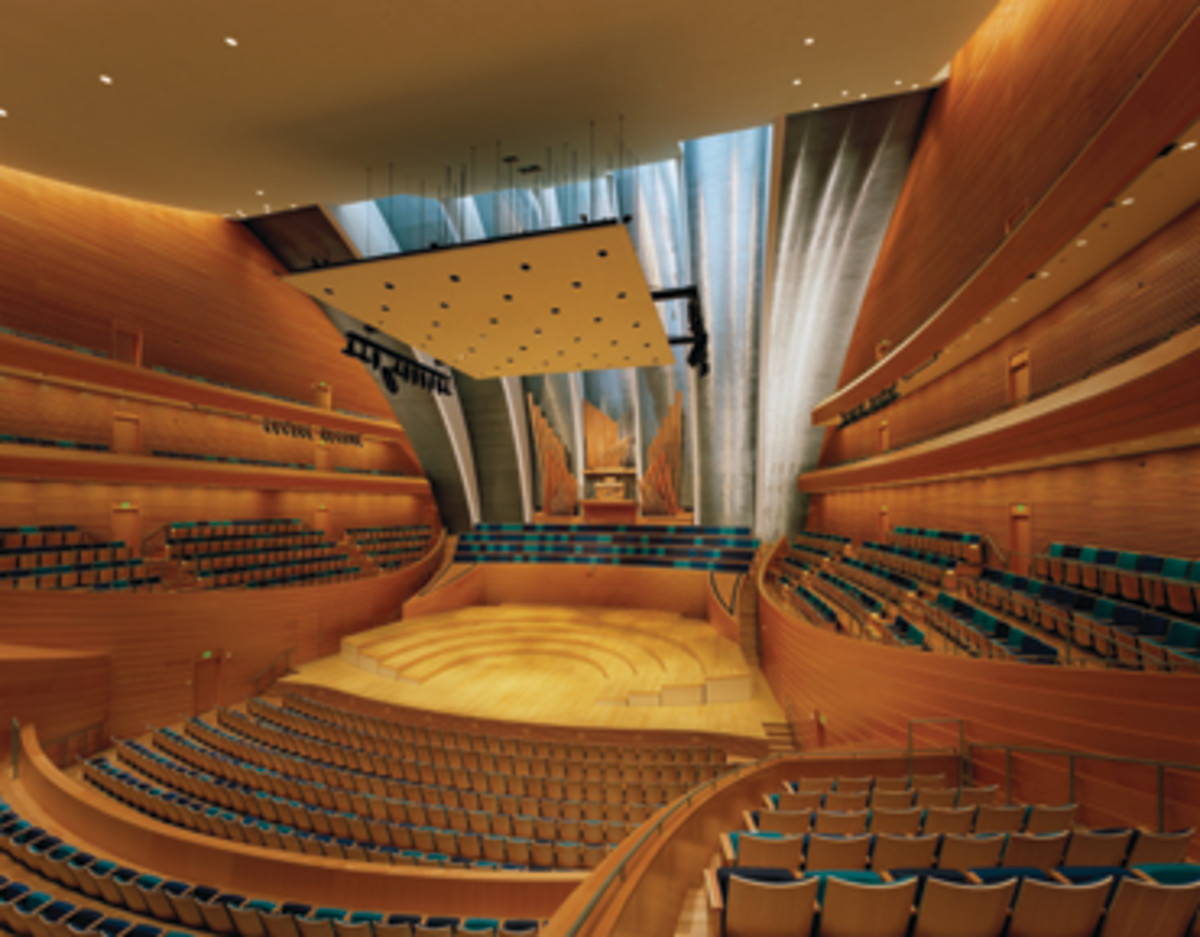 The shop's extensive portfolio includes work for the Kauffman Center for the Performing Arts in Kansas City, Mo.