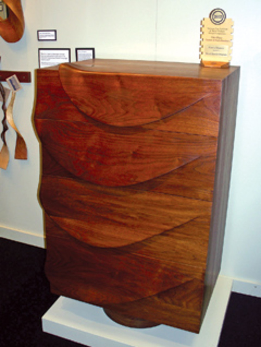 David Hurwitz Originals won the custom furniture category for this chest of drawers.