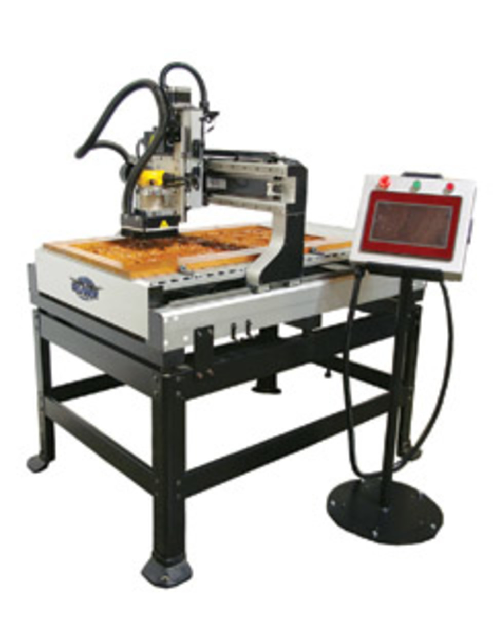 "The 24"" x 36"" intelliRouter from Oliver Machinery."