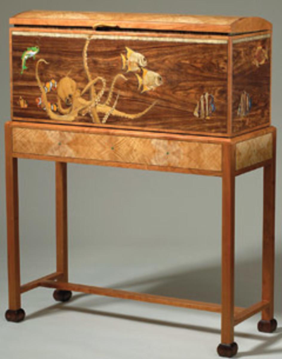 """Kopf's """"Aquarium Cabinet."""""""